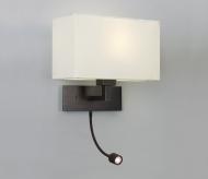 Leselampe med LED arm